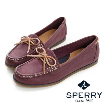 SPERRY 舒適休閒帆船鞋-女-紫紅