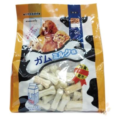 阿曼特armonto 天然潔牙2.5吋牛奶壓骨120入 1包入