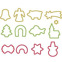 TESCOMA PP掛環餅乾切模13件(聖誕節)
