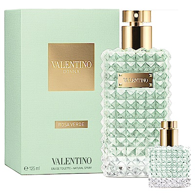 Valentino 范倫鐵諾 輕漾女性淡香水125ml(贈)同款小香6ml