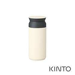 日本KINTO 隨行保溫瓶350ml-白