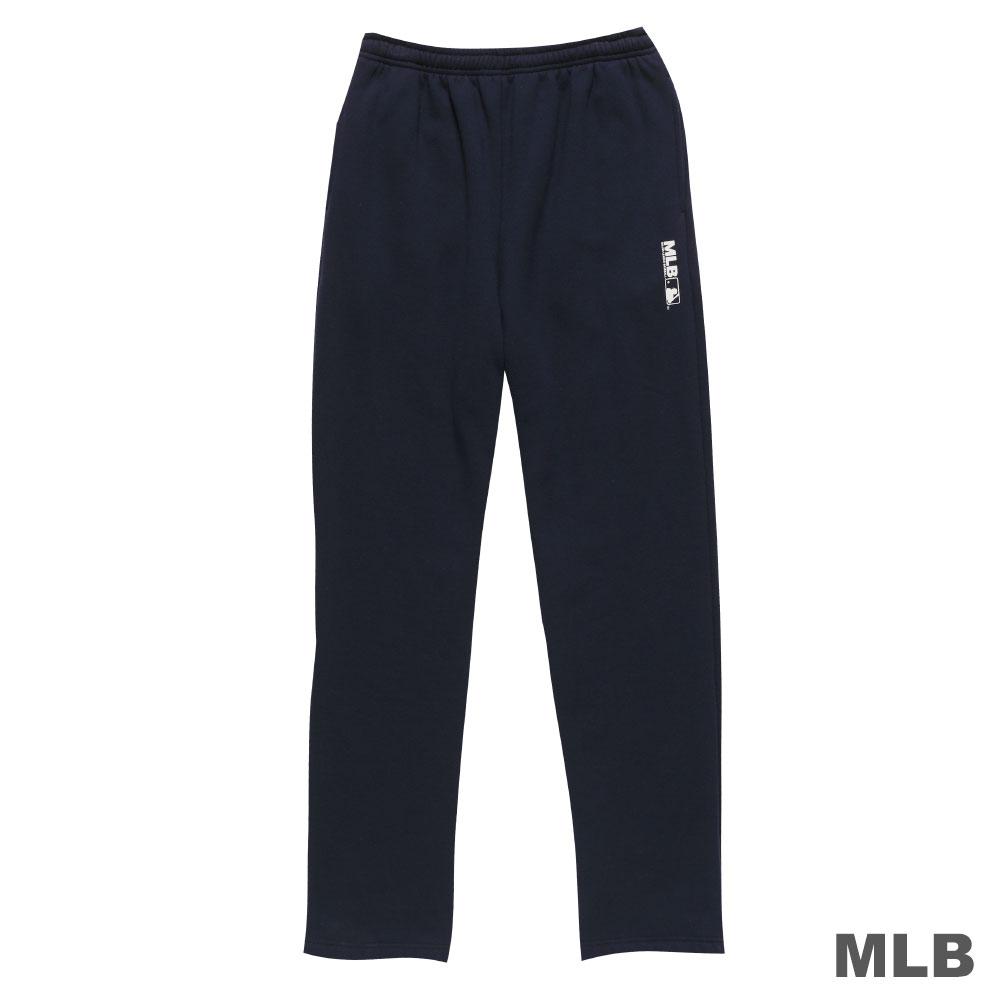 MLB-美國職棒大聯盟平口印花厚長褲-深藍(男)
