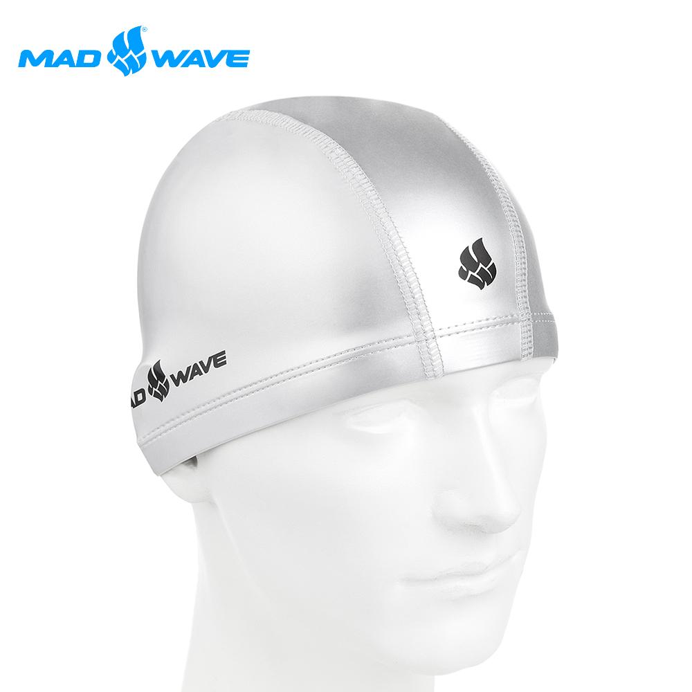俄羅斯 邁俄威 成人舒適彈性泳帽 MADWAVE PUT COATED product image 1