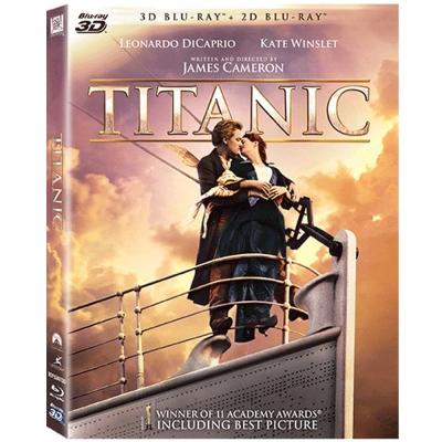 鐵達尼號-Titanic-3D-2D-四碟版-藍光-BD