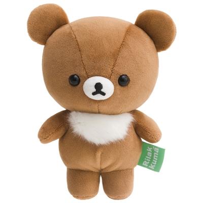 拉拉熊歡樂時光系列QQ毛絨公仔。蜂蜜小熊 San-X