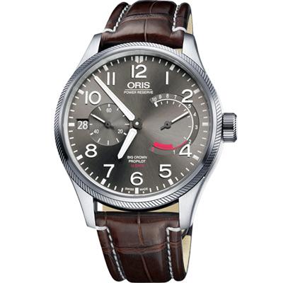 Oris 豪利時 大錶冠 ProPilot Calibre 111手動上鍊腕錶-44mm