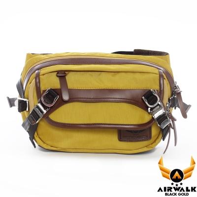 AIRWALK-黑金系列-斜背包