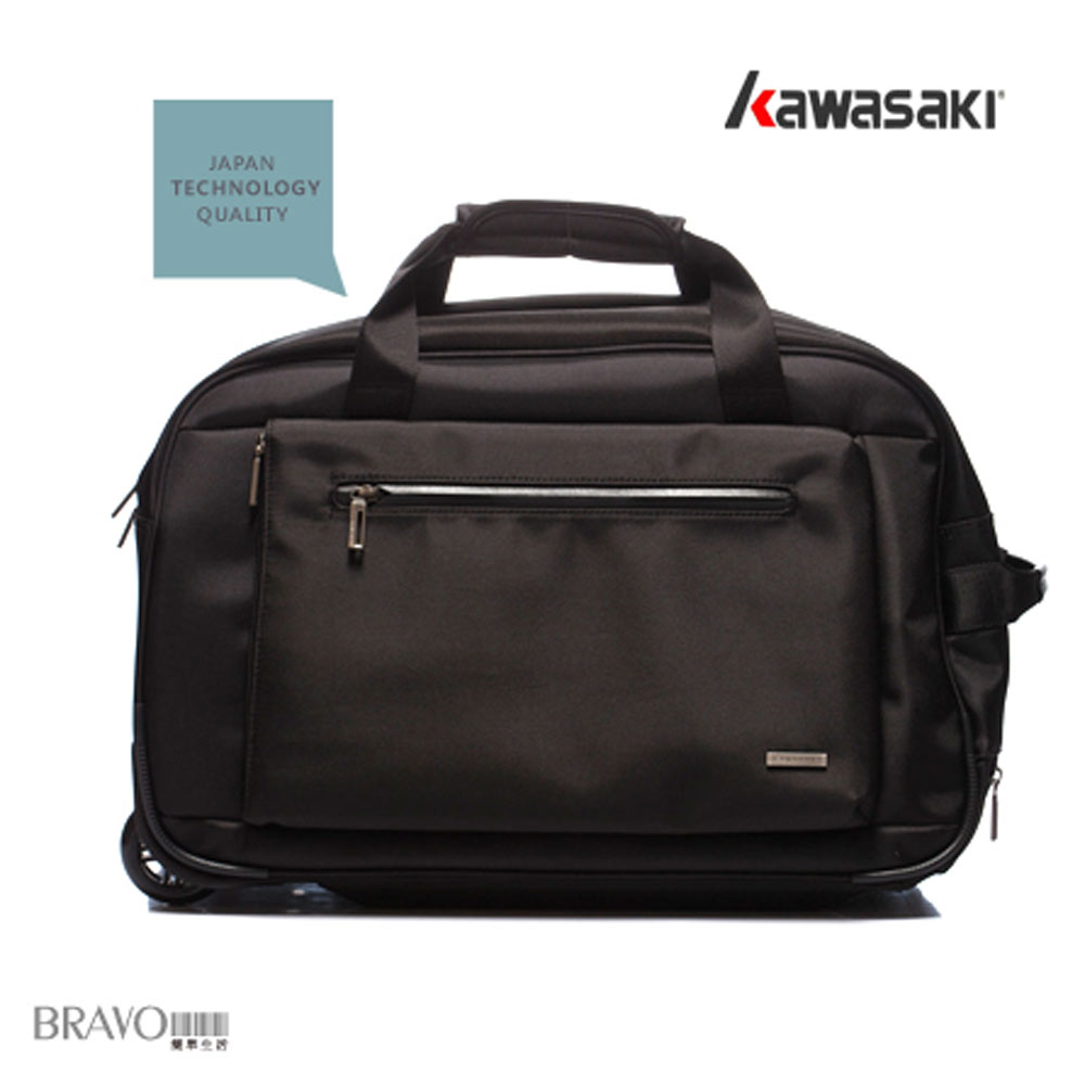 Kawasaki-旅行優雅拖輪拉桿袋-KA176