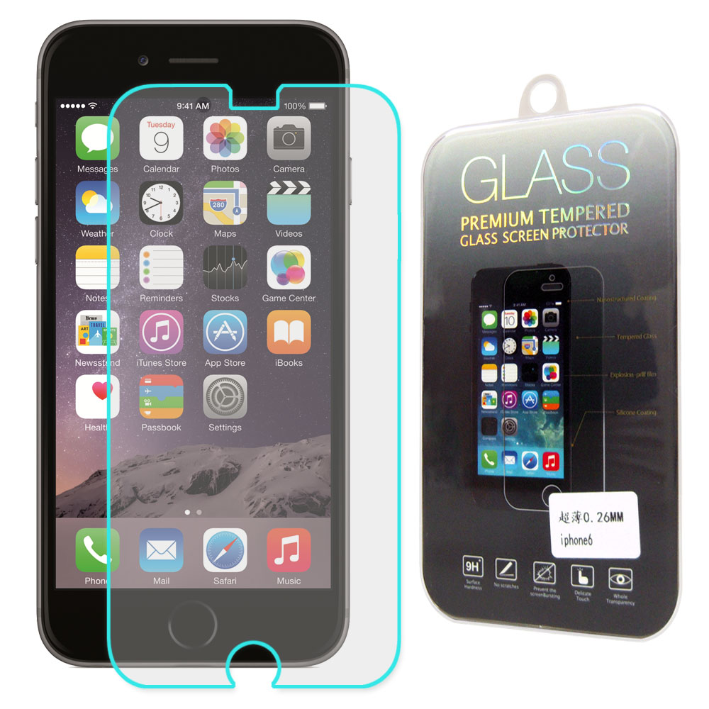 Mybeetles 麥殼蟲 iphone 6 plus / 6s plus9H玻璃液晶螢幕保護貼