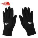 The North Face北面男款黑色保暖可觸控戶外運動旅行手套
