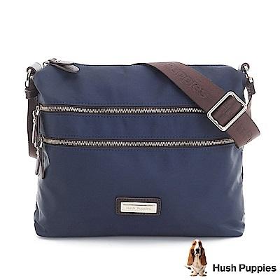 Hush Puppies JOJO 休閒小斜背包-深藍