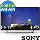 SONY 49吋 HDR聯網液晶電視 KDL-49W660E