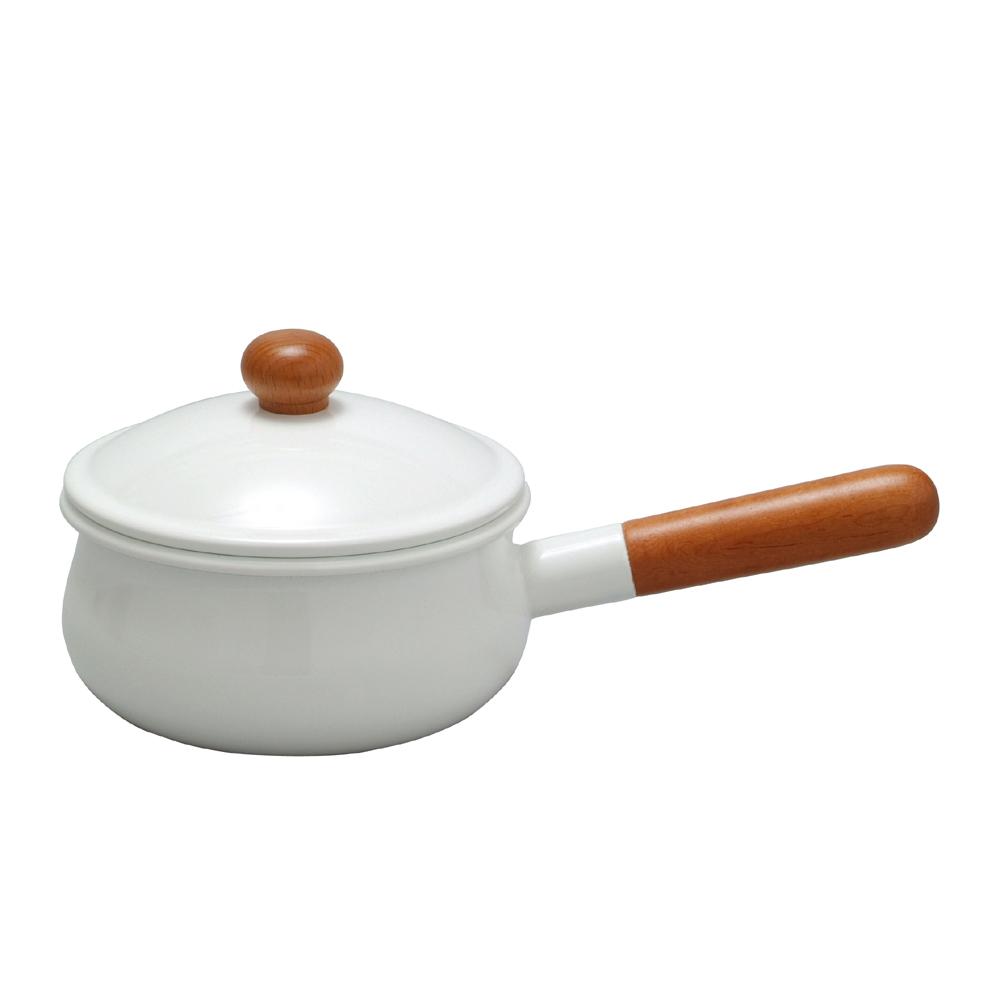 野田琺瑯 POCHKA系列單手鍋 - 15cm