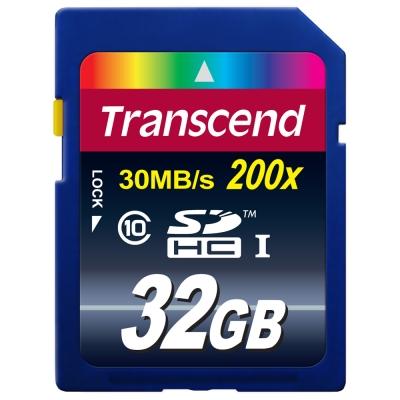 創見進階主流款 32G SDHC Class 10 記憶卡