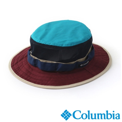 【Columbia哥倫比亞】男女-日版酷涼快排叢林帽-暗紅 UPU52570WE