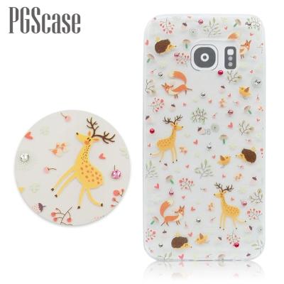 PGS Samsung Galaxy S6 奧地利彩鑽手機殼-森林物語
