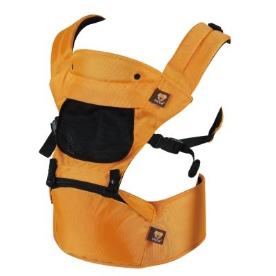 喜多雙肩透氣型坐墊式嬰兒背帶