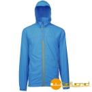 【Wildland 荒野】0A01908男 透氣抗UV輕薄外套(77中藍色)