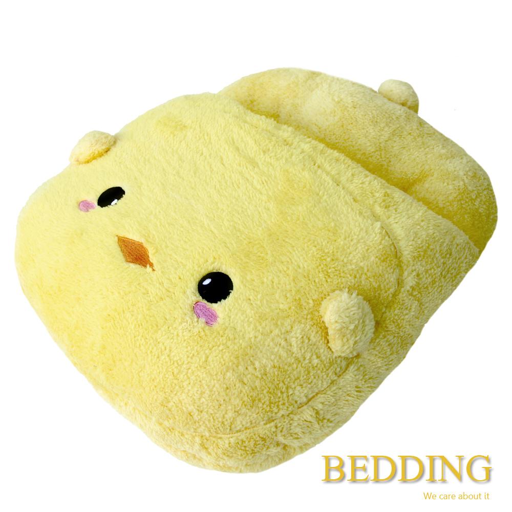 BEDDING  咕咕雞  毛茸茸保暖造型暖腳枕
