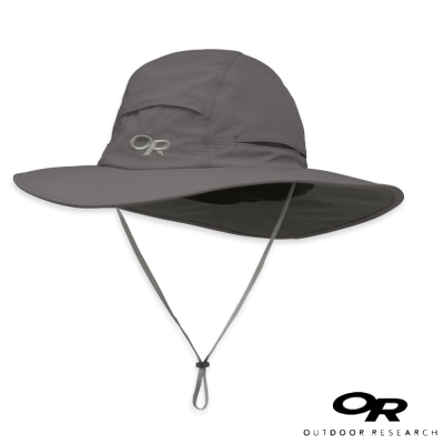 【美國 Outdoor Research】輕量抗UV透氣大盤帽_深灰