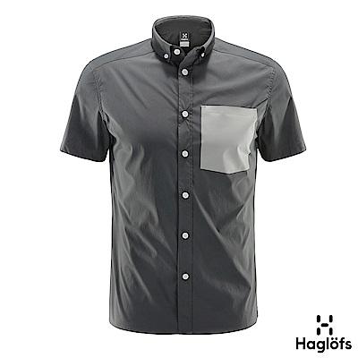 Haglofs 男 Brunn 快排短袖襯衫 磁鐵色