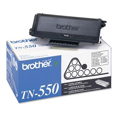 【福利品】Brother TN-550 黑色原廠碳粉匣