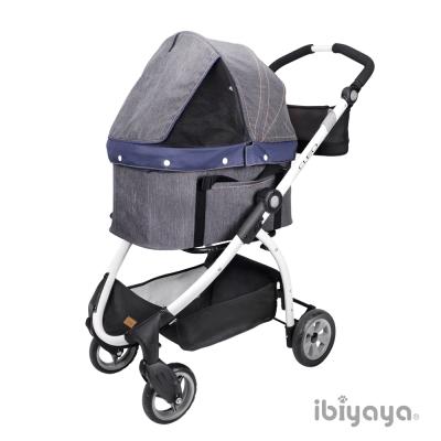 IBIYAYA依比呀呀-單寧瘋提籃式寵物推車 (FS1591-D)