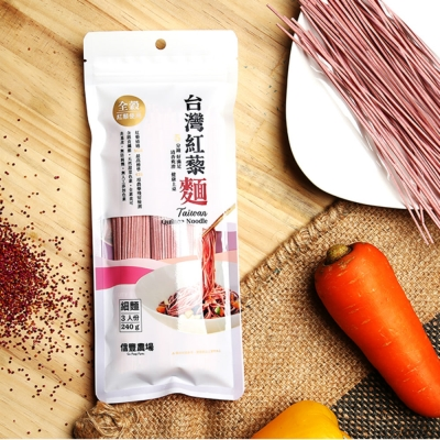 信豐農場 台灣紅藜細麵(240g)