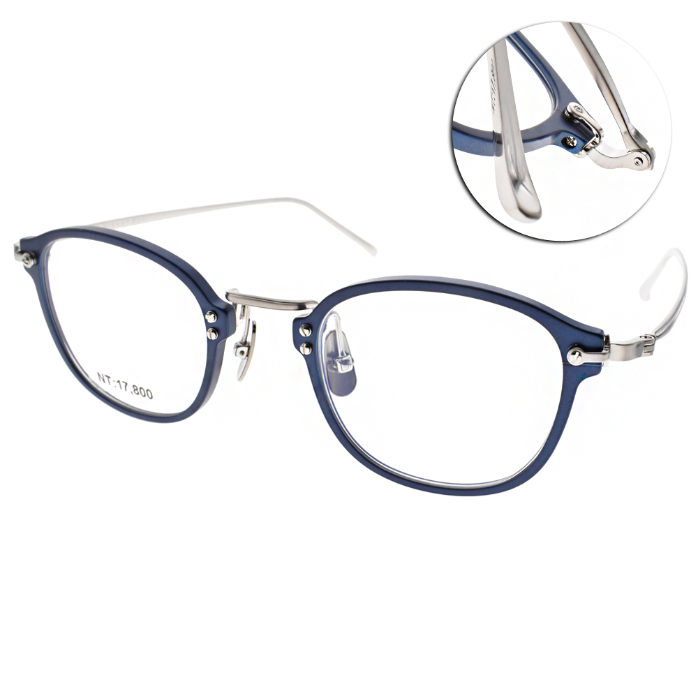 STEADY 眼鏡 日本手工製造/藍-銀#STDF31 C05