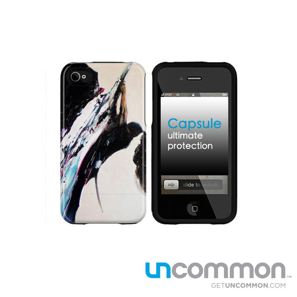 Uncommon iPhone4/4S 滑蓋保護殼-Samurai