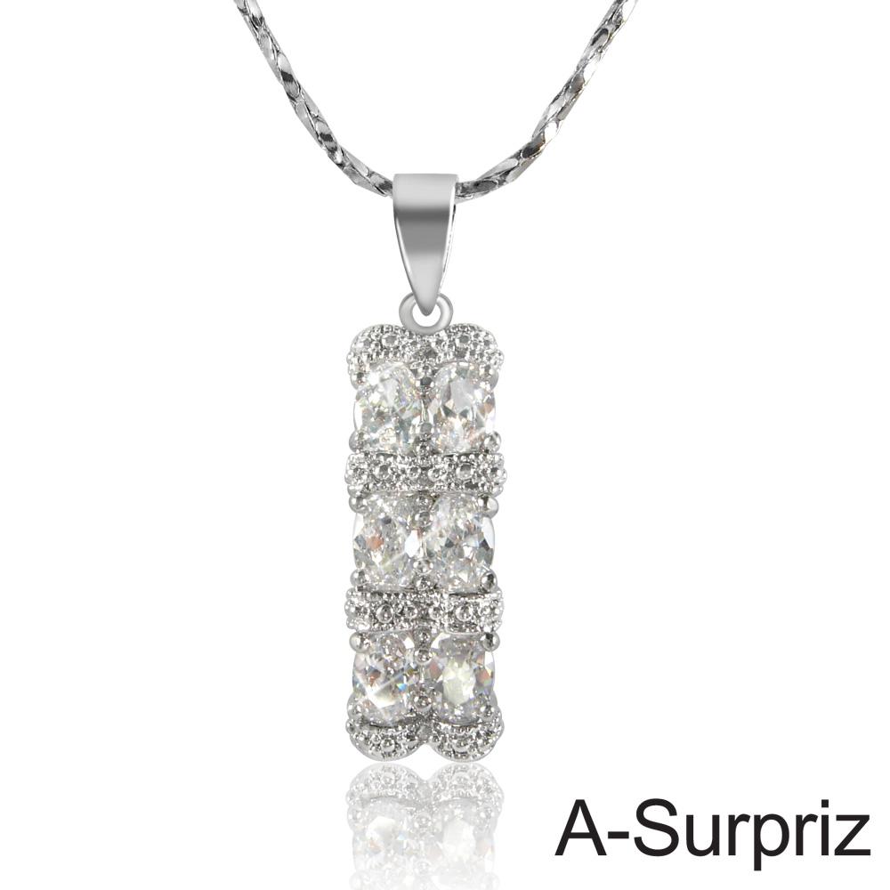 A-Surpriz 唯一真愛鋯石項鍊