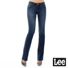 Lee 牛仔褲404低腰合身小喇叭牛仔褲/SD-女款-藍