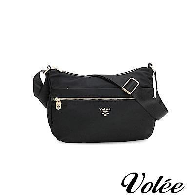 Volee飛行包 - 好旅行系列拉鍊肩背包-德國黑