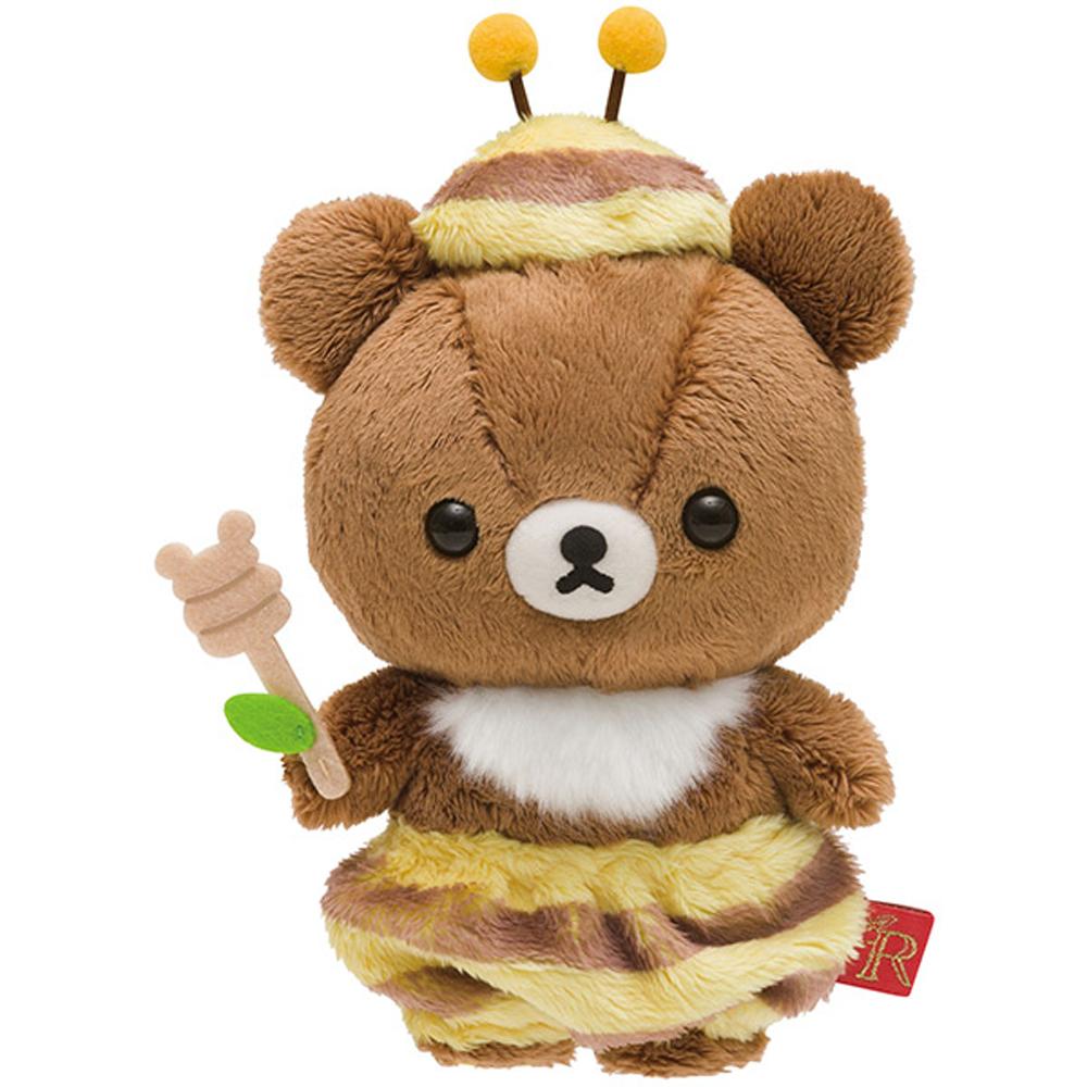 拉拉熊蜂蜜森林豐收節系列毛絨公仔(S) 蜂蜜小熊 San X