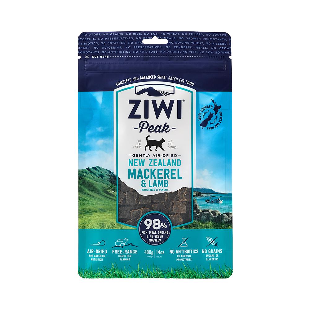 ZiwiPeak巔峰 98%鮮肉貓 鯖魚羊肉 400g