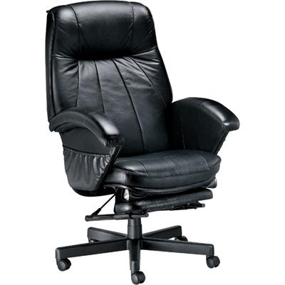 NICK 坐臥兩用高級半牛皮主管椅