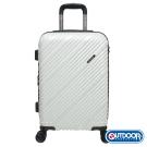 OUTDOOR-Skyline系列 20吋行李箱-髮絲白 OD9089B20WT