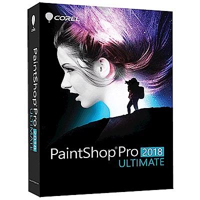 加購-PaintShop Pro 2018 旗艦完整版盒裝(中/英)