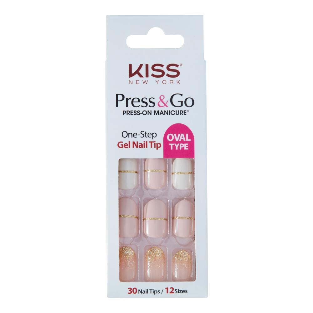 美國 KISS New York-指甲貼片(PNGO111K王在相愛)