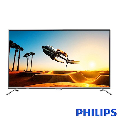 PHILIPS飛利浦 55吋 4K 超纖薄液晶顯示器+視訊盒 55PUH7052
