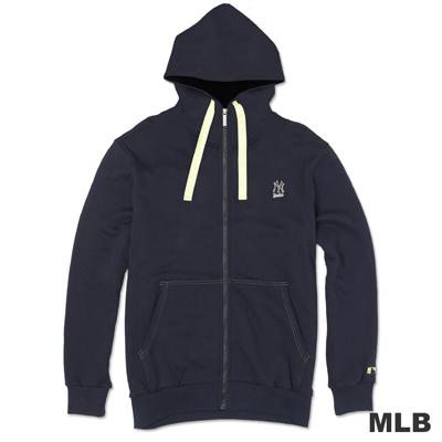 MLB-紐約洋基隊連帽運動外套-深藍(男)