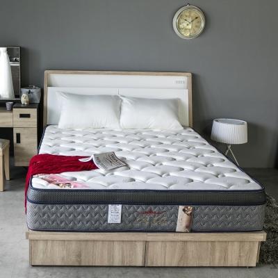 H&D 波斯系列-極致蜂巢三線護邊獨立筒床墊-雙人5尺