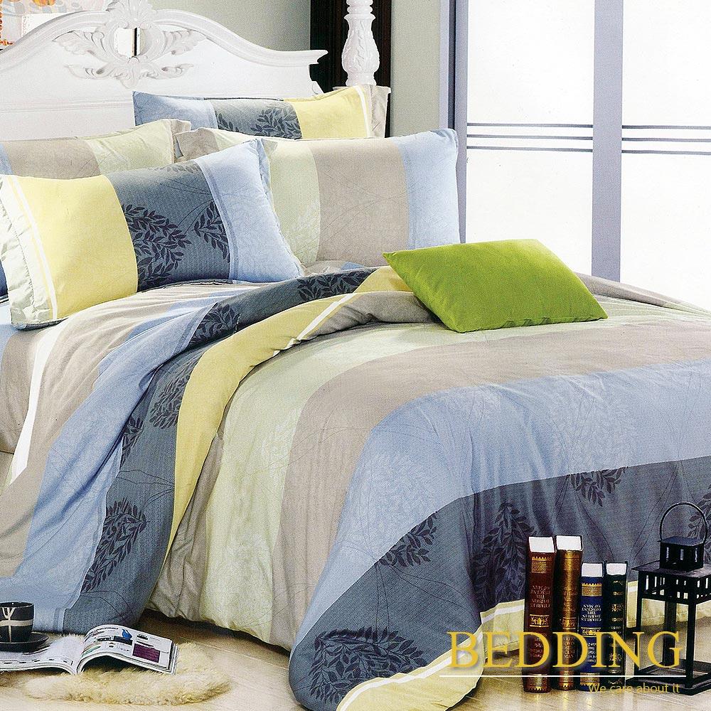 BEDDING  活性印染 雙人床包涼被組 索思