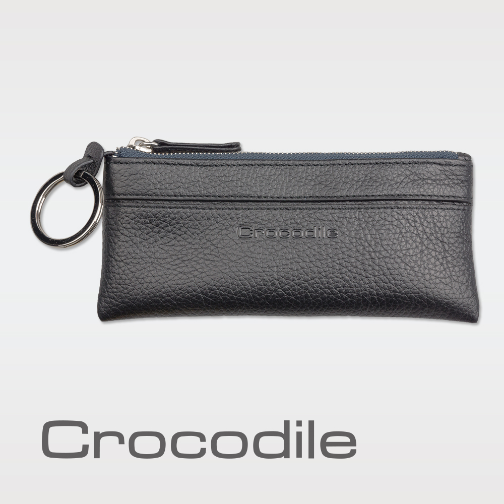Crocodile 荔紋系列 Easy 輕巧零錢鑰匙兩用包 0103-08003
