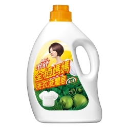 泡舒全植媽媽洗衣液體皂-檀之香2000g