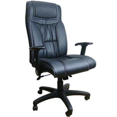 Mr. chair 高級皮革彈性辦公椅/主管椅