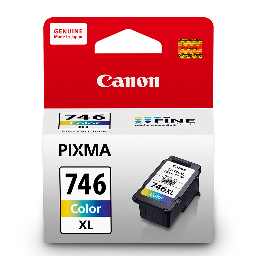 Canon  CL746XL 原廠彩色高容量墨水匣