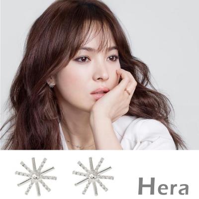 Hera 赫拉 太陽的後裔宋慧喬款太陽花耳針/耳環-2色
