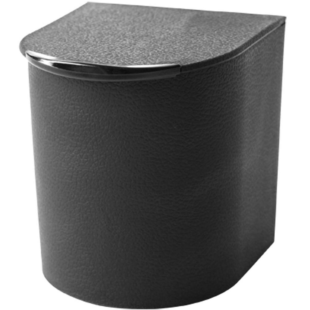 Sceltevie 抗菌附鏡收納盒(黑)