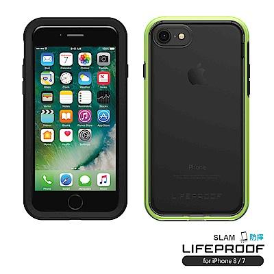 LIFEPROOF iPhone8/7專用 吸震抗衝擊防摔手機殼-SLAM(黑綠...